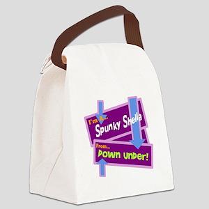 Spunky Sheila Canvas Lunch Bag