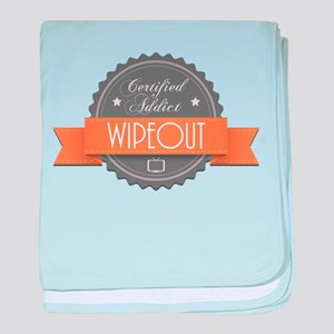Certified Addict: Wipeout Infant Blanket