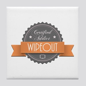 Certified Addict: Wipeout Tile Coaster