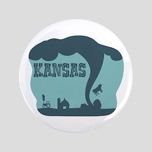 """KANSAS 3.5"""" Button"""