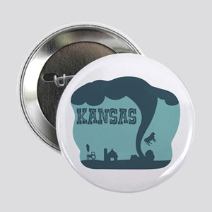 "KANSAS 2.25"" Button"