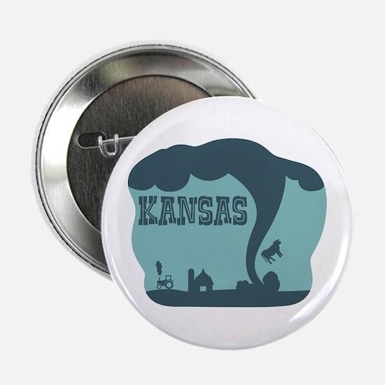 """KANSAS 2.25"""" Button"""