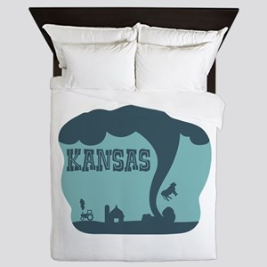 KANSAS Queen Duvet