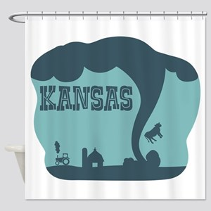 KANSAS Shower Curtain