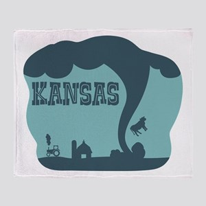 KANSAS Throw Blanket