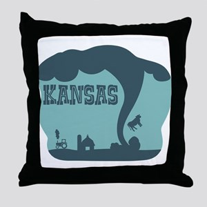 KANSAS Throw Pillow