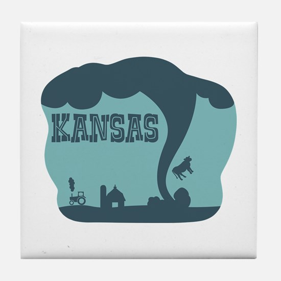 KANSAS Tile Coaster