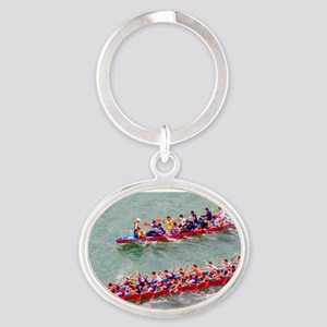 Dragon Boats Keychains