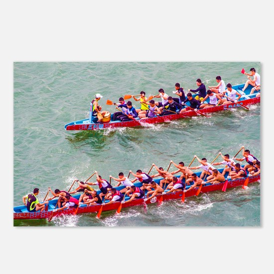 Dragon Boats Postcards (Package of 8)
