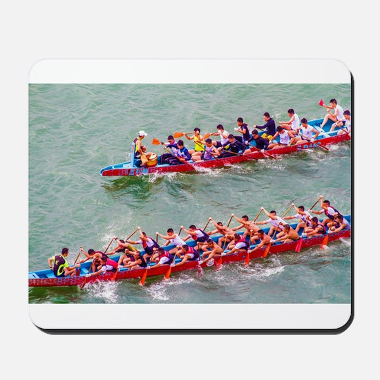 Dragon Boats Mousepad