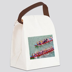 Dragon Boats Canvas Lunch Bag