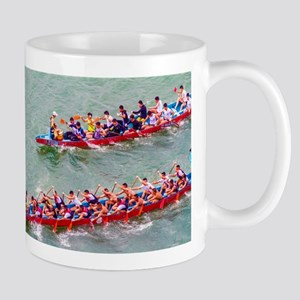 Dragon Boats Mugs