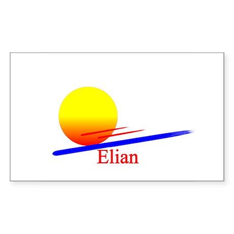 Elian Rectangle Sticker