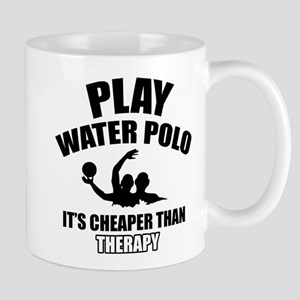 water polo is my therapy Mug
