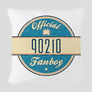 Official 90210 Fanboy Woven Throw Pillow