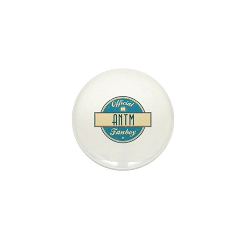 Official ANTM Fanboy Mini Button
