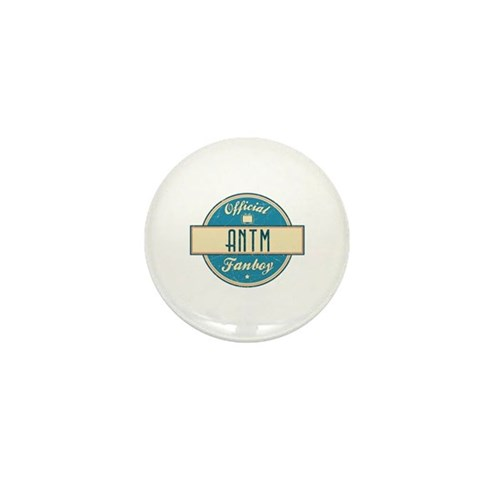 Official ANTM Fanboy Mini Button (100 pack)
