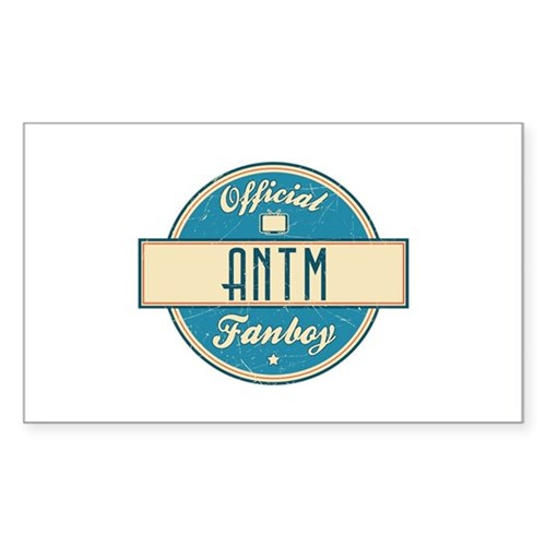 Official ANTM Fanboy Rectangle Sticker (50 pack)