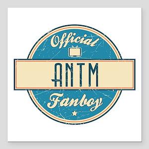 "Official ANTM Fanboy Square Car Magnet 3"" x 3"""