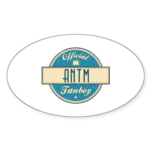 Official ANTM Fanboy Oval Sticker