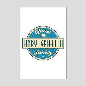 Official Andy Griffith Fanboy Mini Poster Print