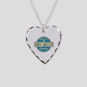 Official Andy Griffith Fanboy Necklace Heart Charm