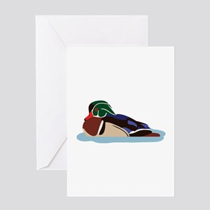 Wood Duck Greeting Cards