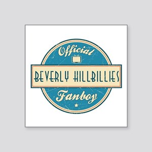 Official Beverly Hillbillies Fanboy Square Sticker
