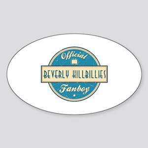 Official Beverly Hillbillies Fanboy Oval Sticker