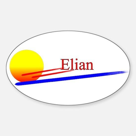 Elian Oval Decal