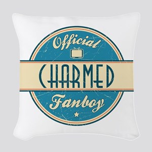 Official Charmed Fanboy Woven Throw Pillow