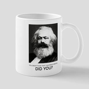 Marx Was Serious Mug