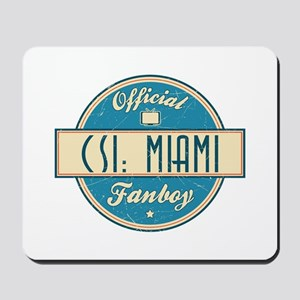 Official CSI: Miami Fanboy Mousepad