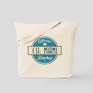 Official CSI: Miami Fanboy Tote Bag