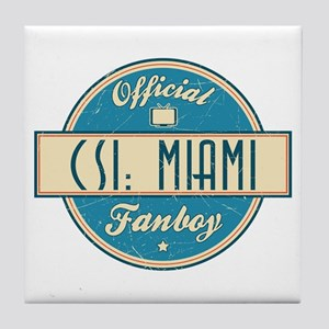 Official CSI: Miami Fanboy Tile Coaster