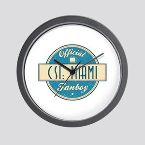 Official CSI: Miami Fanboy Wall Clock
