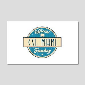 Official CSI: Miami Fanboy Car Magnet 20 x 12
