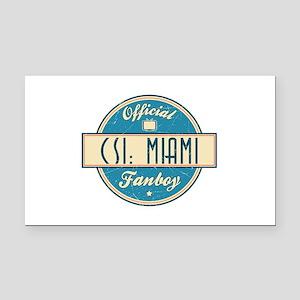 Official CSI: Miami Fanboy Rectangle Car Magnet