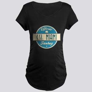 Official CSI: Miami Fanboy Dark Maternity T-Shirt