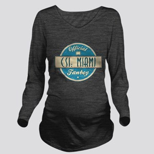 Official CSI: Miami Fanboy Long Sleeve Maternity T