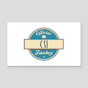 Official CSI Fanboy Rectangle Car Magnet