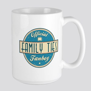Official Family Ties Fanboy Large Mug