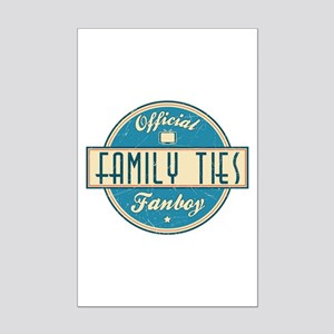 Official Family Ties Fanboy Mini Poster Print