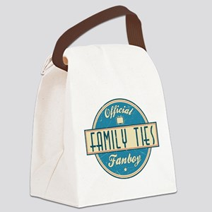 Official Family Ties Fanboy Canvas Lunch Bag