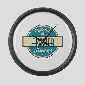 Official Frasier Fanboy Large Wall Clock