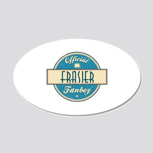 Official Frasier Fanboy 22x14 Oval Wall Peel