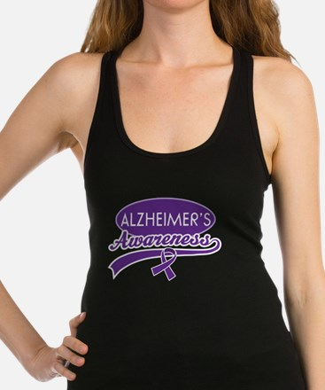 Alzheimers Awareness gift Racerback Tank Top