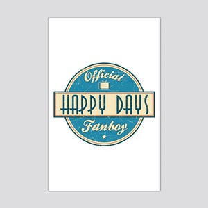 Official Happy Days Fanboy Mini Poster Print