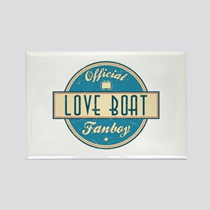 Official Love Boat Fanboy Rectangle Magnet