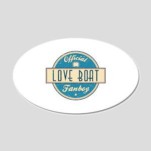 Official Love Boat Fanboy 22x14 Oval Wall Peel